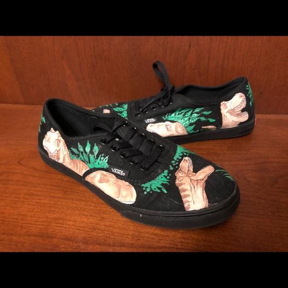 dinosaur vans shoes